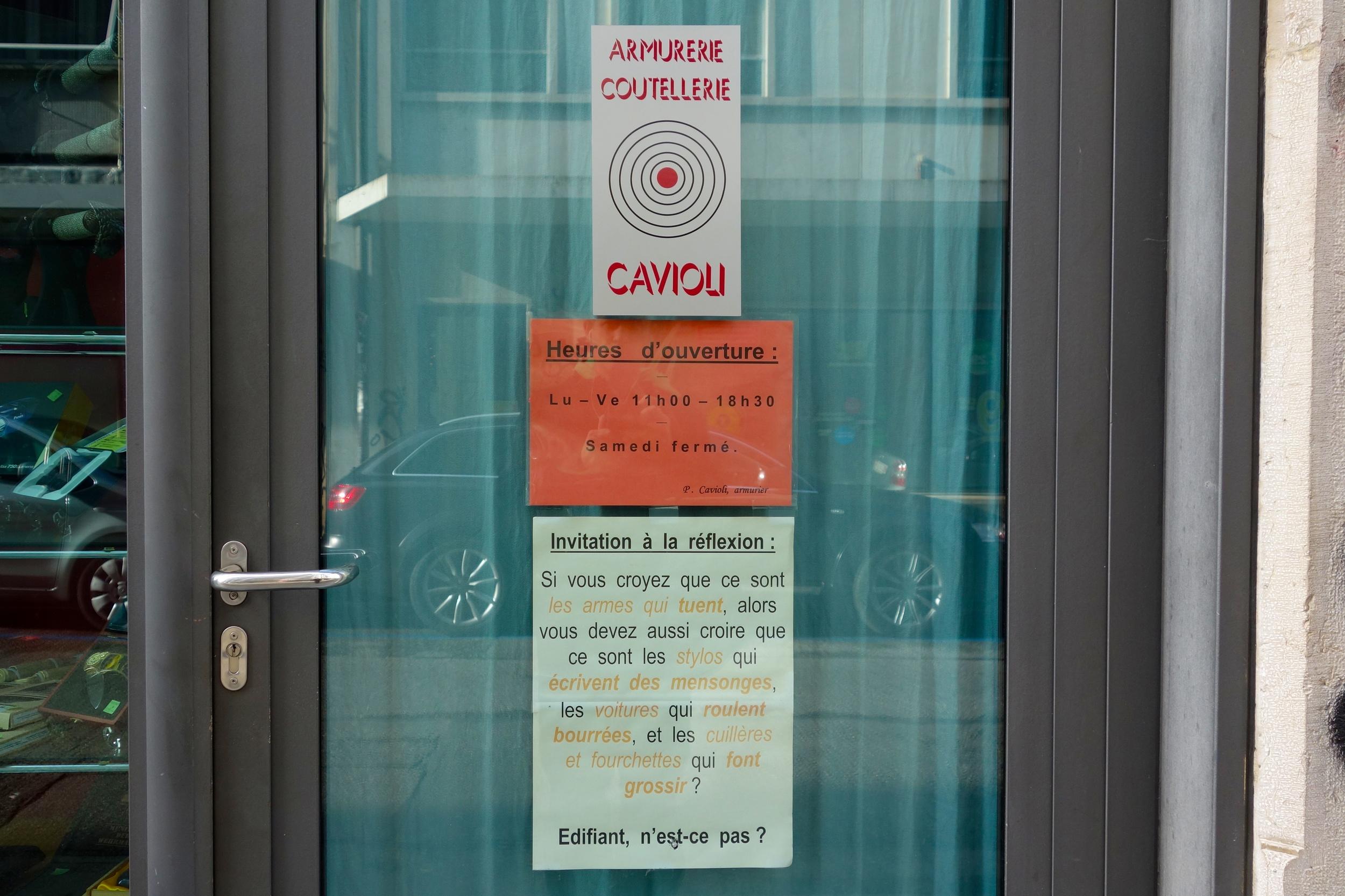 Genève, rue du Diorama.