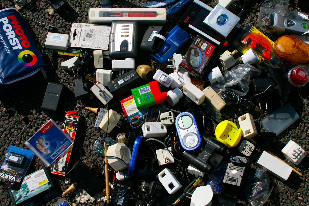 At some point the Internet of Things is going to look like this: a bunch of discarded plastic artefacts in a flea market.