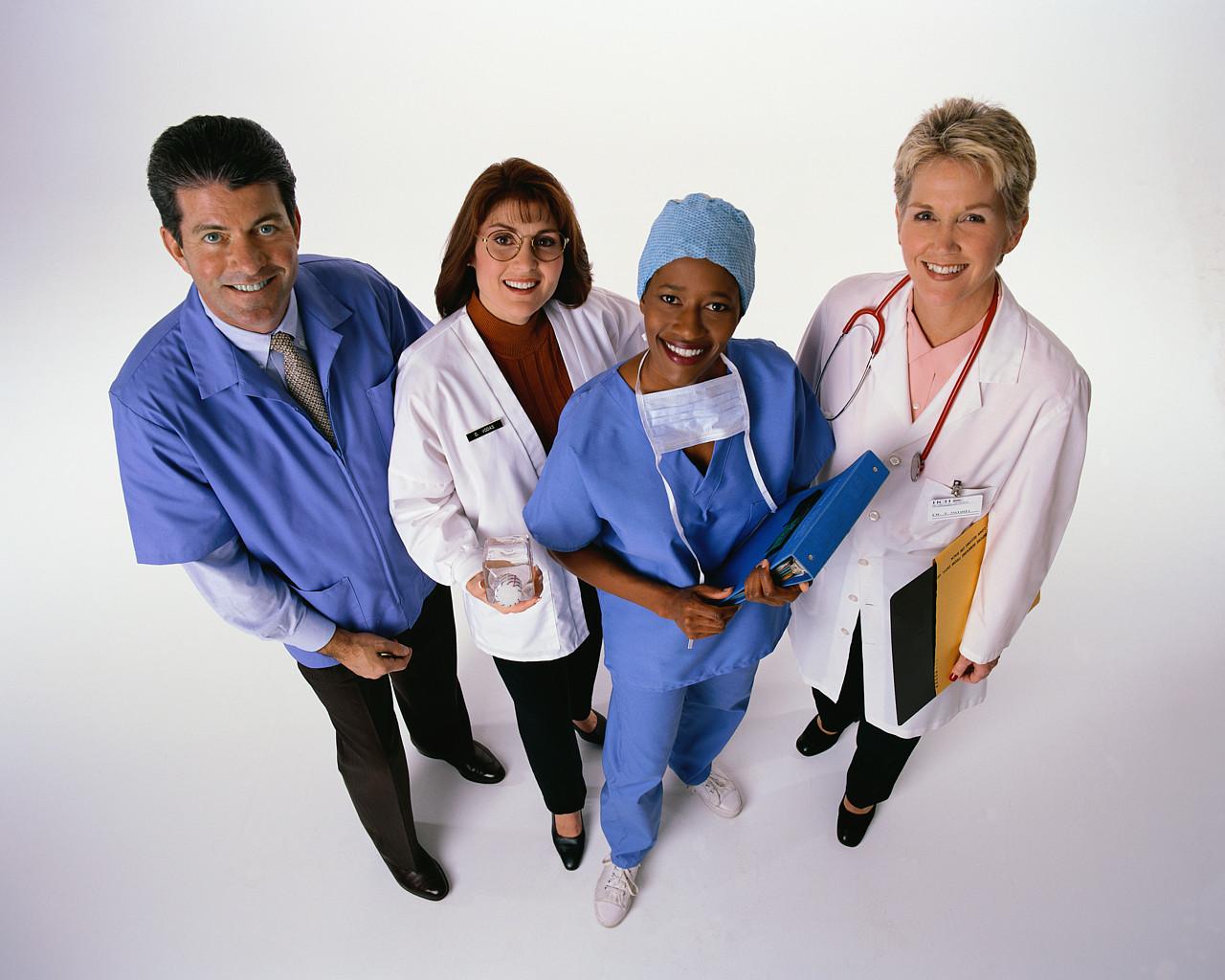 Doctors looking upwards excitedly.jpg
