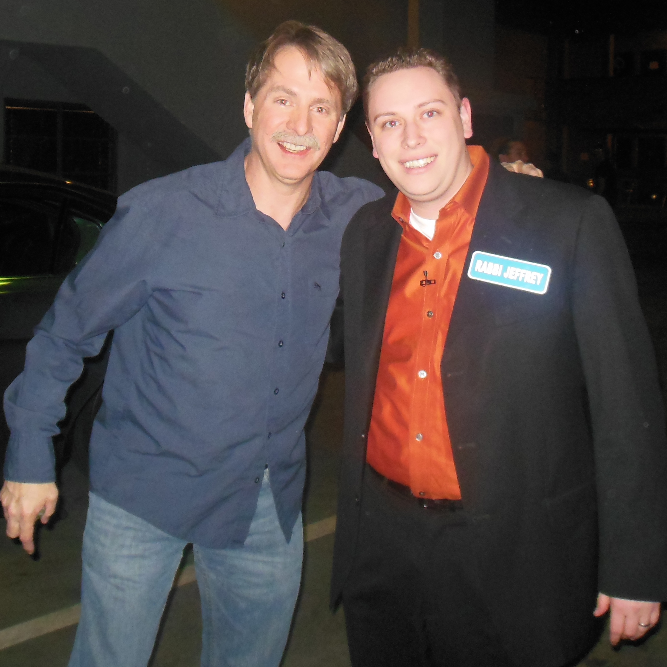 with Jeff Foxworthy on the American Bible Challenge.