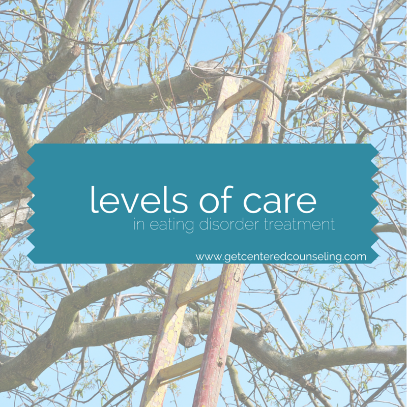 levels of care in treating eating disorders