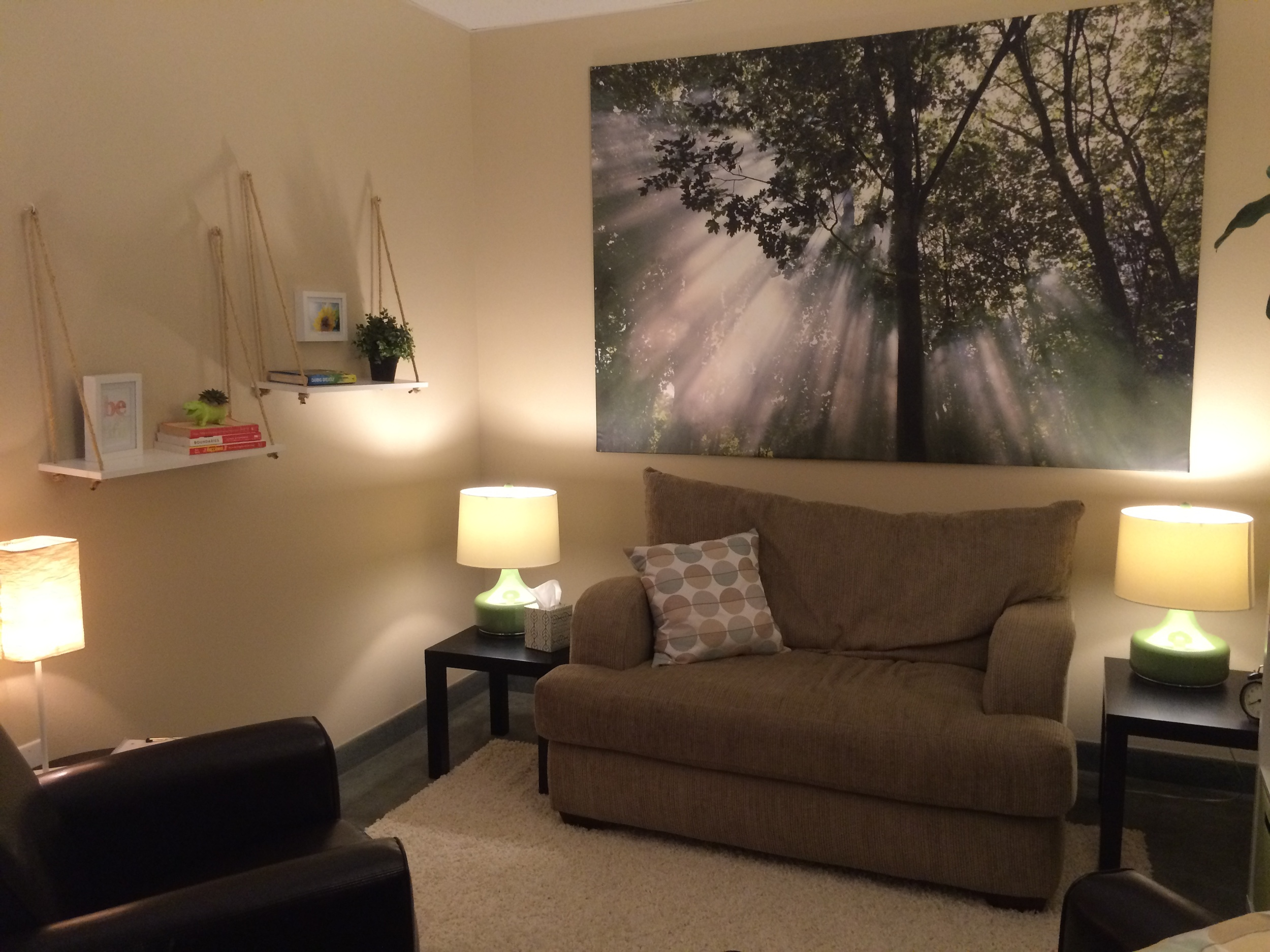 The new Get Centered Counseling office located in Suite 100-D of the H.H. Hall Building in Vancouver, WA