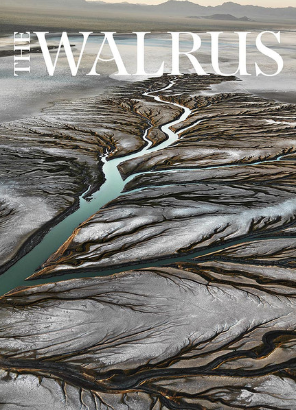 October 2013 cover of The Walrus Magazine, photo by Canadian photographer, Edward Burtynsky.