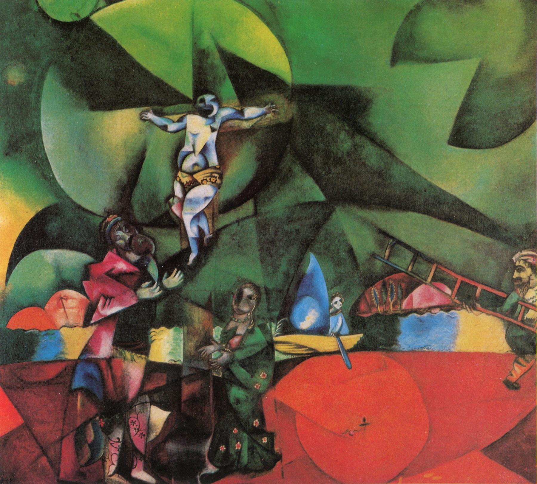 Marc Chagall,  Golgotha,  1912