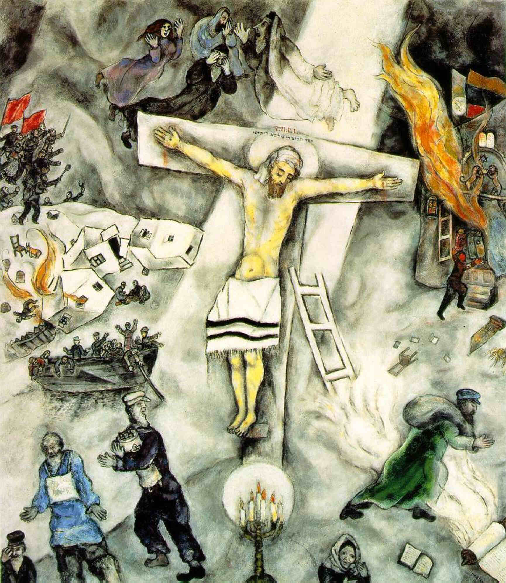 Chagall's White Crucifixion — Reverb Culture