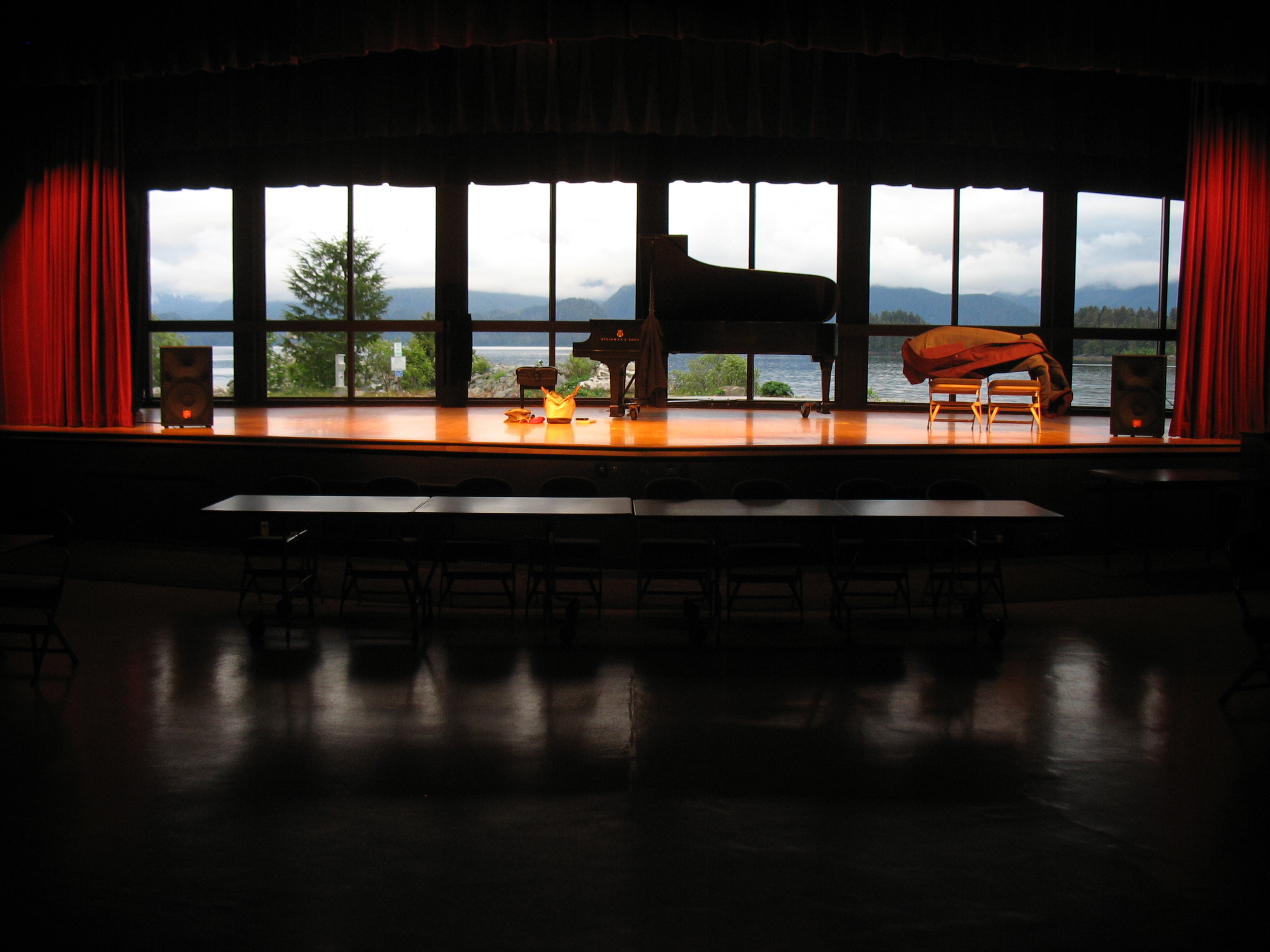 Steinway Model 'D' - Centennial Hall - Sitka, AK