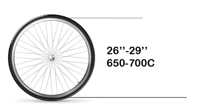 Anbringung - TReGo lässt sich an fast jedes Fahrrad anbringen, so lange sie über eine Standard- Gabel verfügen (Gabeln mit oder ohne Federung), aus Stahl oder Aluminium und mit standard Befestigung. TReGo passt an Fahrräder mit jeglichen Bremsen.TReGo passt NICHT an:KarbongabelnLefty - Gabeln (einholmige Gabel)Fahrräder mit kleinen Rädern (kleiner als 26 Zoll oder ISO 559 mm)Gabeln mit Steckachse (TReGo Connect). TReGo FIX lässt sich auch an Steckachsen anbringen.Fat bikes (Gabeln mit Nabenbreite von mehr als 100mm)