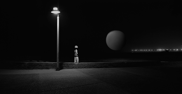 By the Light , 2007/2016 archival pigment print limited edition of 5 5 x 10 1/6 inches