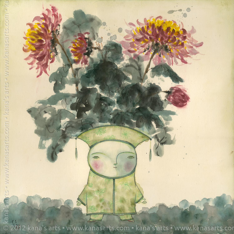 noble ones (chrysanthemum)