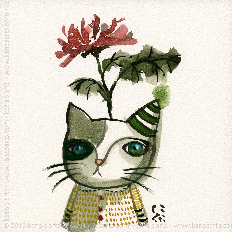chyrsanthemum cat