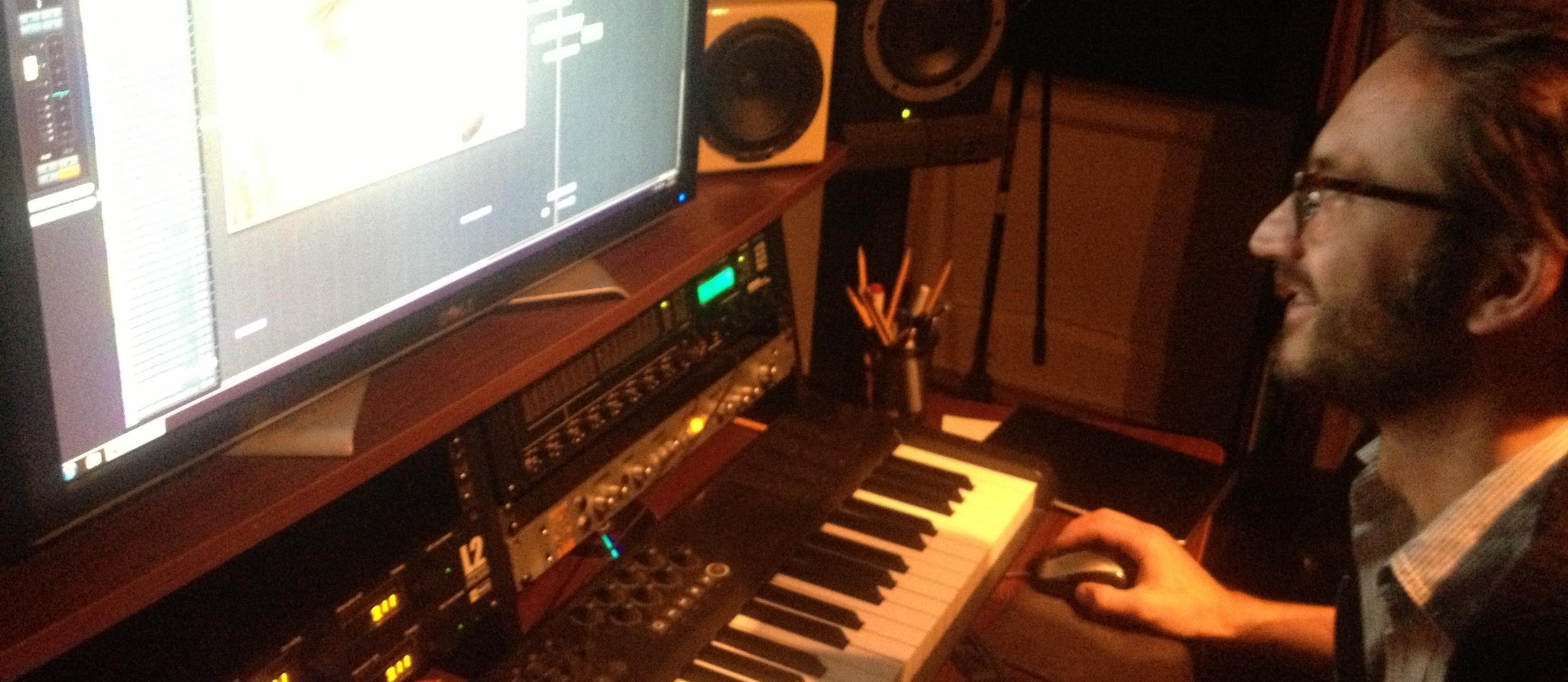 The talented Fatrin Krajka on his magic keyboard.