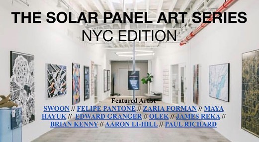 "@pvilion was honored to be selected as a project partner for the Solar Panel Art Series NYC Edition with proceeds benefiting @littlesunenergy Foundation ""Solar School Kids Program"" which helps provide reliable lighting to school children in remote areas of Rwanda #sustainability #solar"