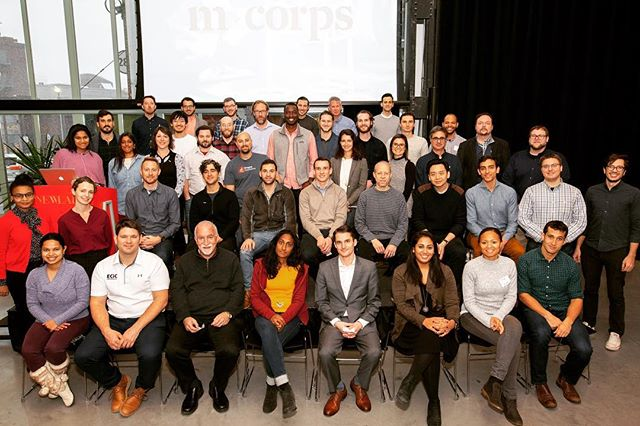 Pvilion is proud to be part of 2018-2019 M-Corps Cohorts. Many thanks to @secondmuse @mcorpsny @newlab for a great kickoff last week!