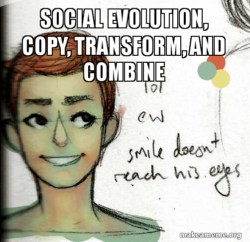 Social Evolution  by Jacinth Robotham
