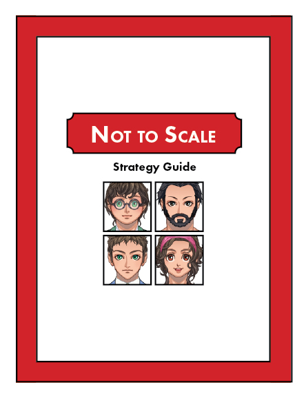 Cover of the Strategy Guide I'm working on currently.