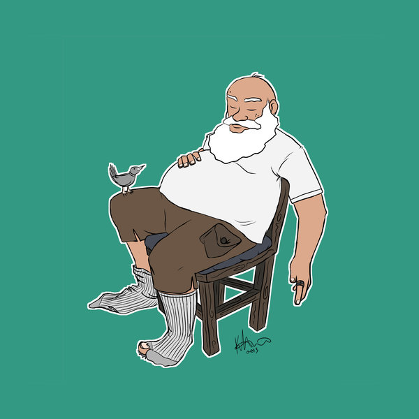 Old Man Reclining (2013)