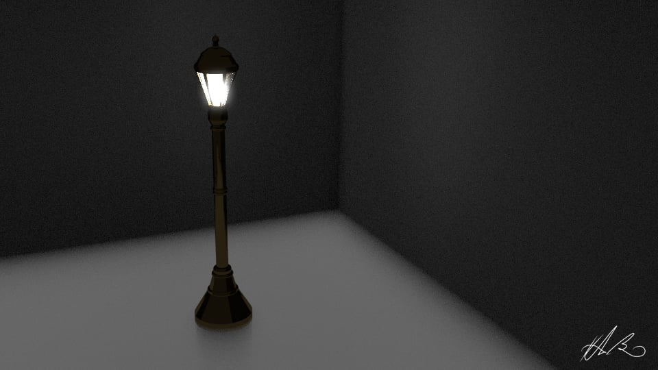 Exercise in Lighting and Modeling