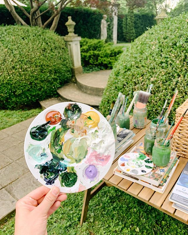 Heart eyes for all of our workshop snaps + super 8 film clips. 📷 ⭐️ ⠀⠀⠀⠀⠀⠀⠀⠀⠀ A big thank you is in order... And yup, I mean it! We had THE BEST group at our Garden Painting Workshop at Whitehall House & Gardens. I loved getting to meet you and seeing all the beautiful pieces you created. ⠀⠀⠀⠀⠀⠀⠀⠀⠀ Sending you a virtual high five 🙌🏼 for stepping outside of your comfort zone, for learning something new and for sharing your talents with us. ⠀⠀⠀⠀⠀⠀⠀⠀⠀ Can't wait to host another workshop this coming fall. In the meantime, keep an eye out (here on IG and over in your inbox) for an exciting release in the next few weeks... And here's a hint: it may or may not involve YOU, some paint, some brushes and canvas. ⠀⠀⠀⠀⠀⠀⠀⠀⠀ Let's hang out beyond this screen! Get the latest scoop on new artwork releases and have first dibs on workshop tickets by joining my newsletter (link in profile). It's kind fun to hear all the juicy news first, right??