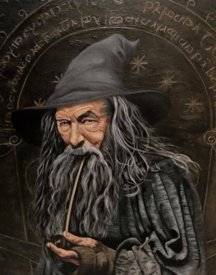 "Gandalf the Grey - ""Speak Friend and Enter"""