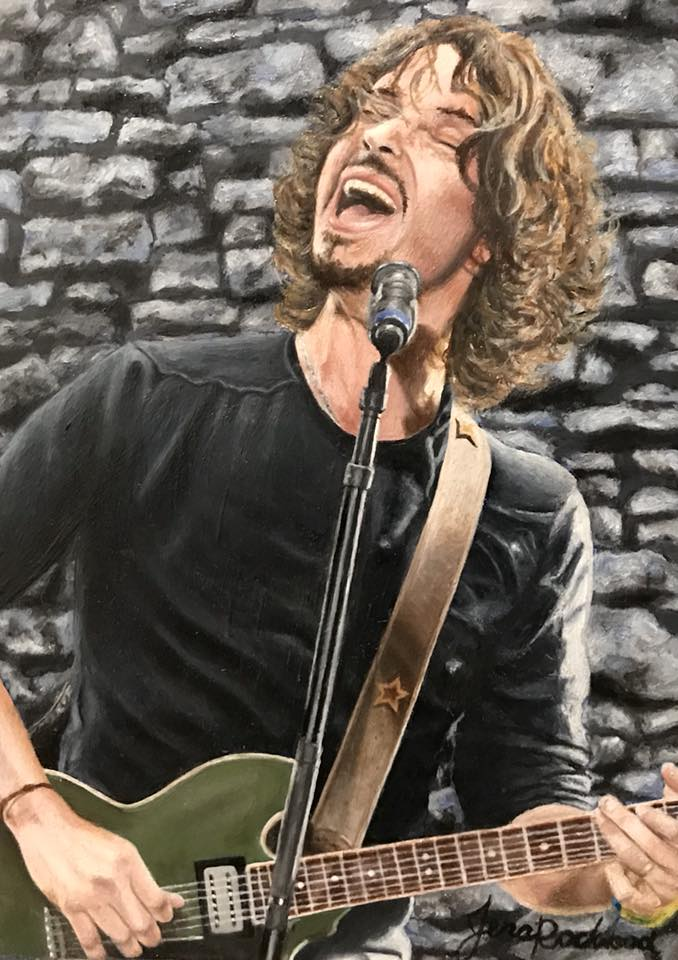 "Chris Cornell - ""Like a Stone"""