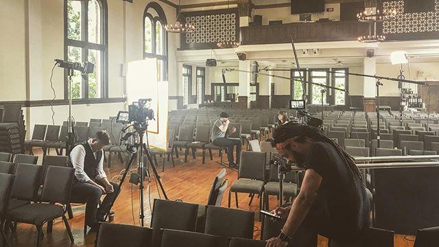 Yesterday's shoot was lit. Literally. • • • • • • • #HawleyMedia #BadJoke #Shoot #Fun #ILoveMyJob #Canon #DabaDolly #aputure #Work