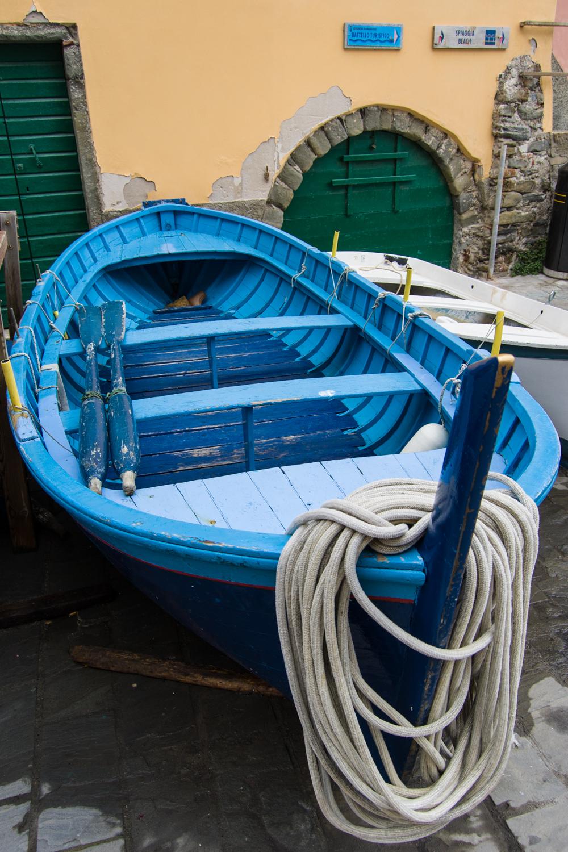Blue Boat, Cinque Terre