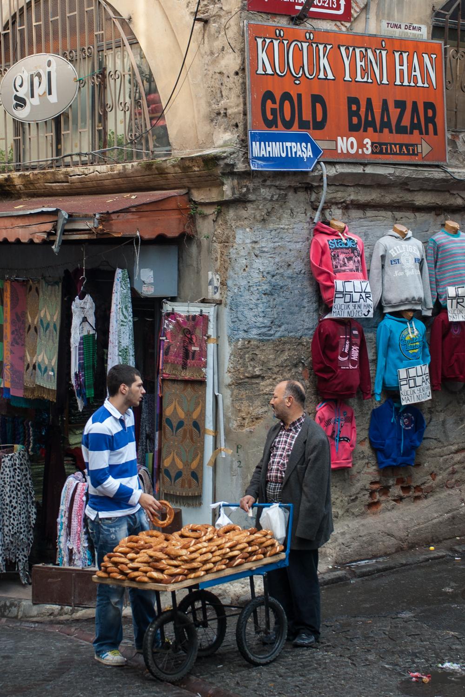 Simit Vendor, Istanbul