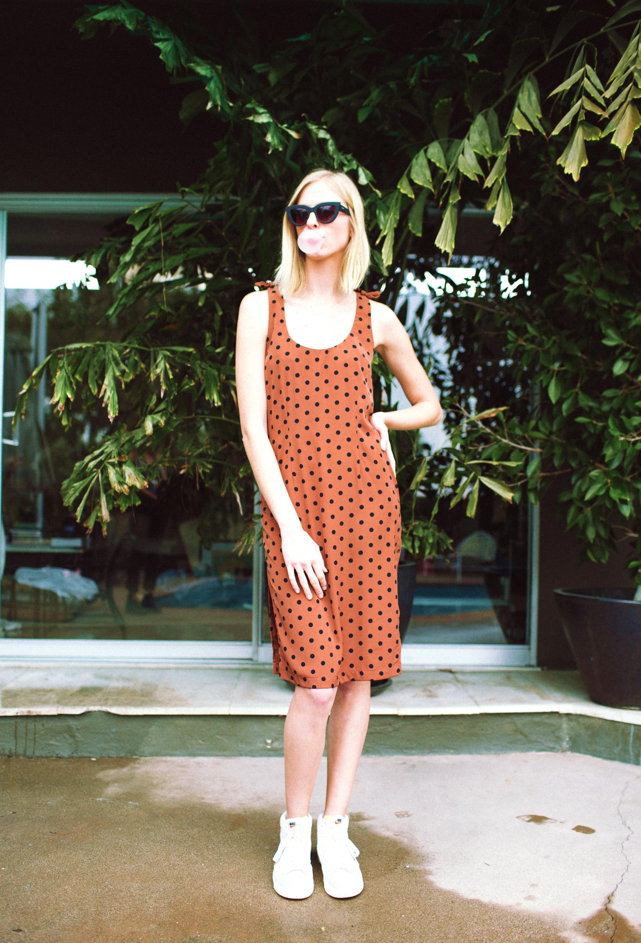 Finn Dress in Polka Dot