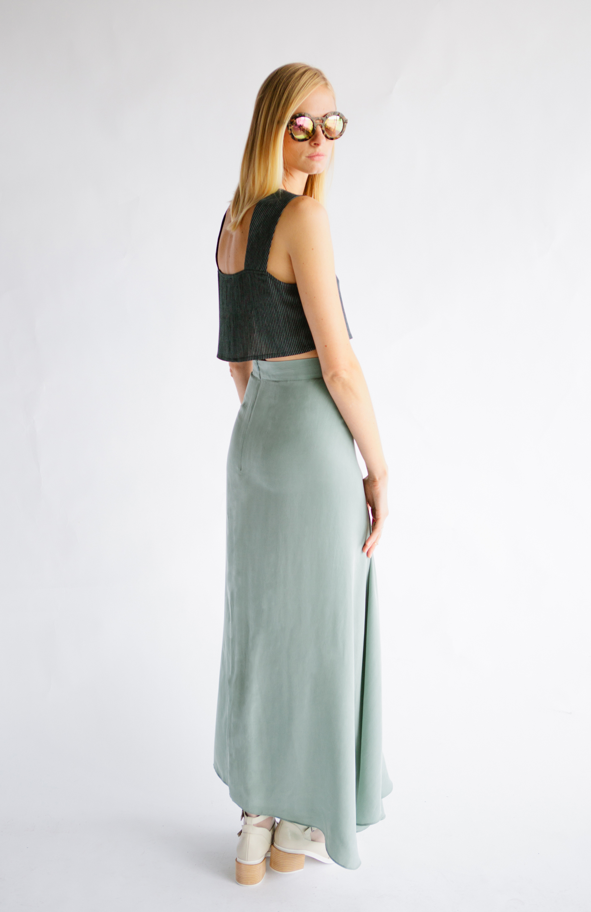 THE OLIVER TOP + JAMES SKIRT