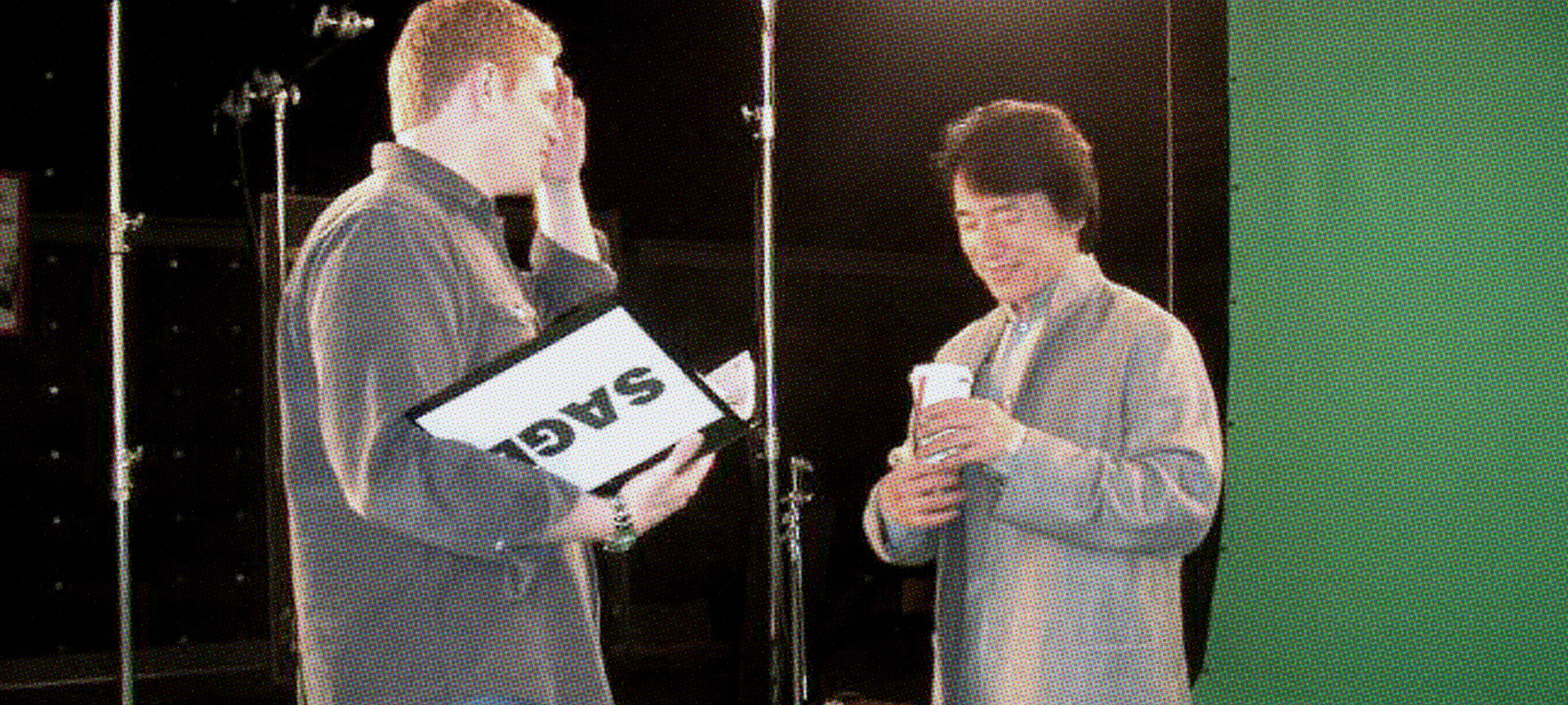 Ryan directing Jackie Chan for The WB