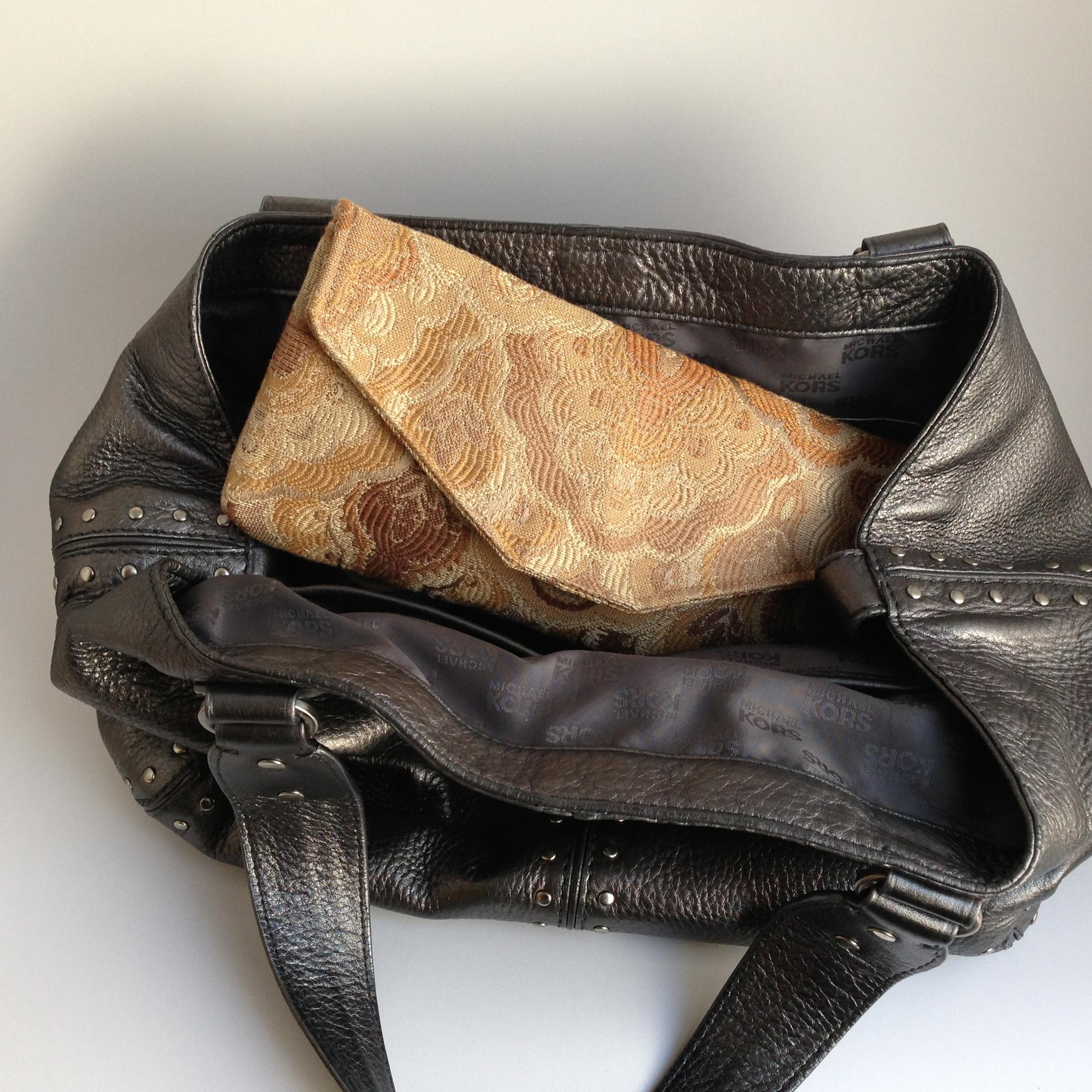 e.b.friday clutch as wallet