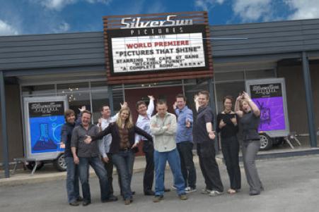 The Silver Sun gang in 2007