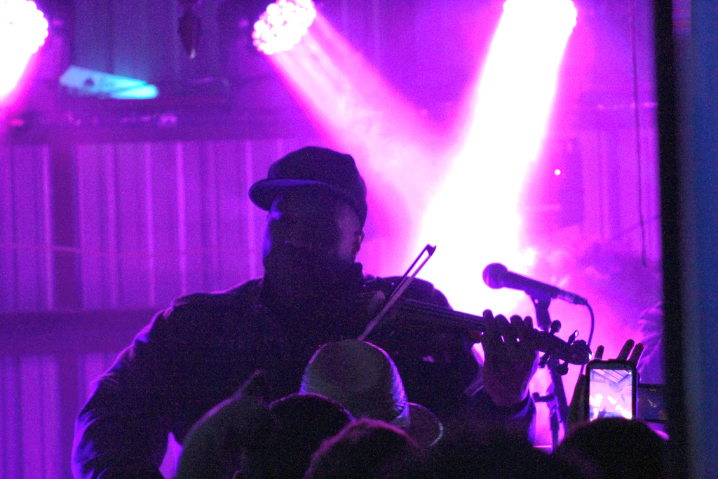 Black Violin at Midnight Garden Party