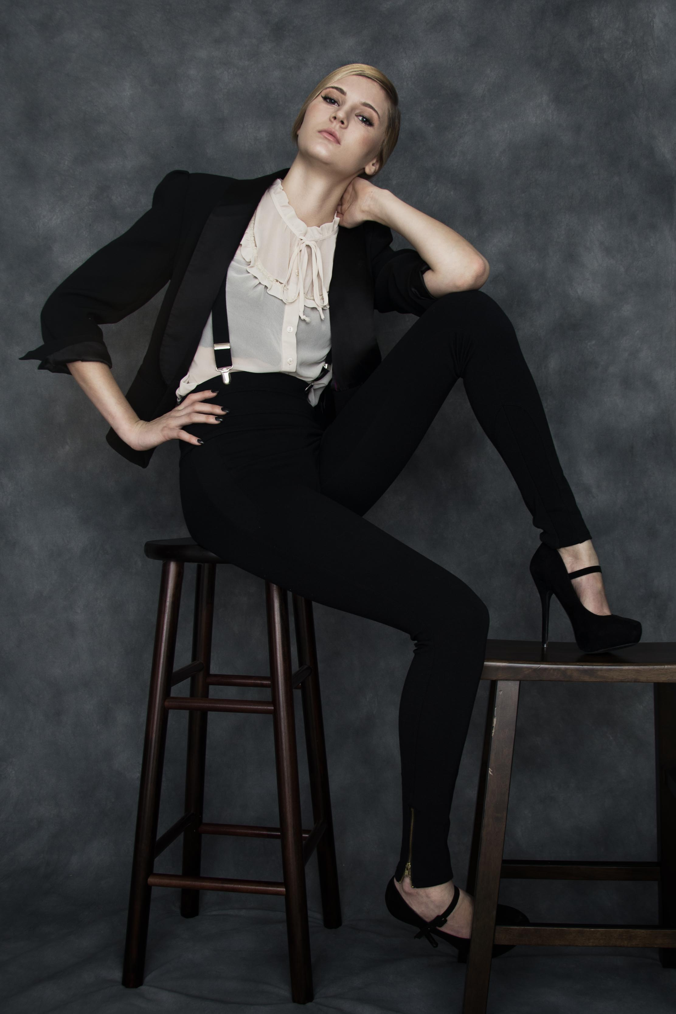Chanel look by Seattle fashion and portrait photographer