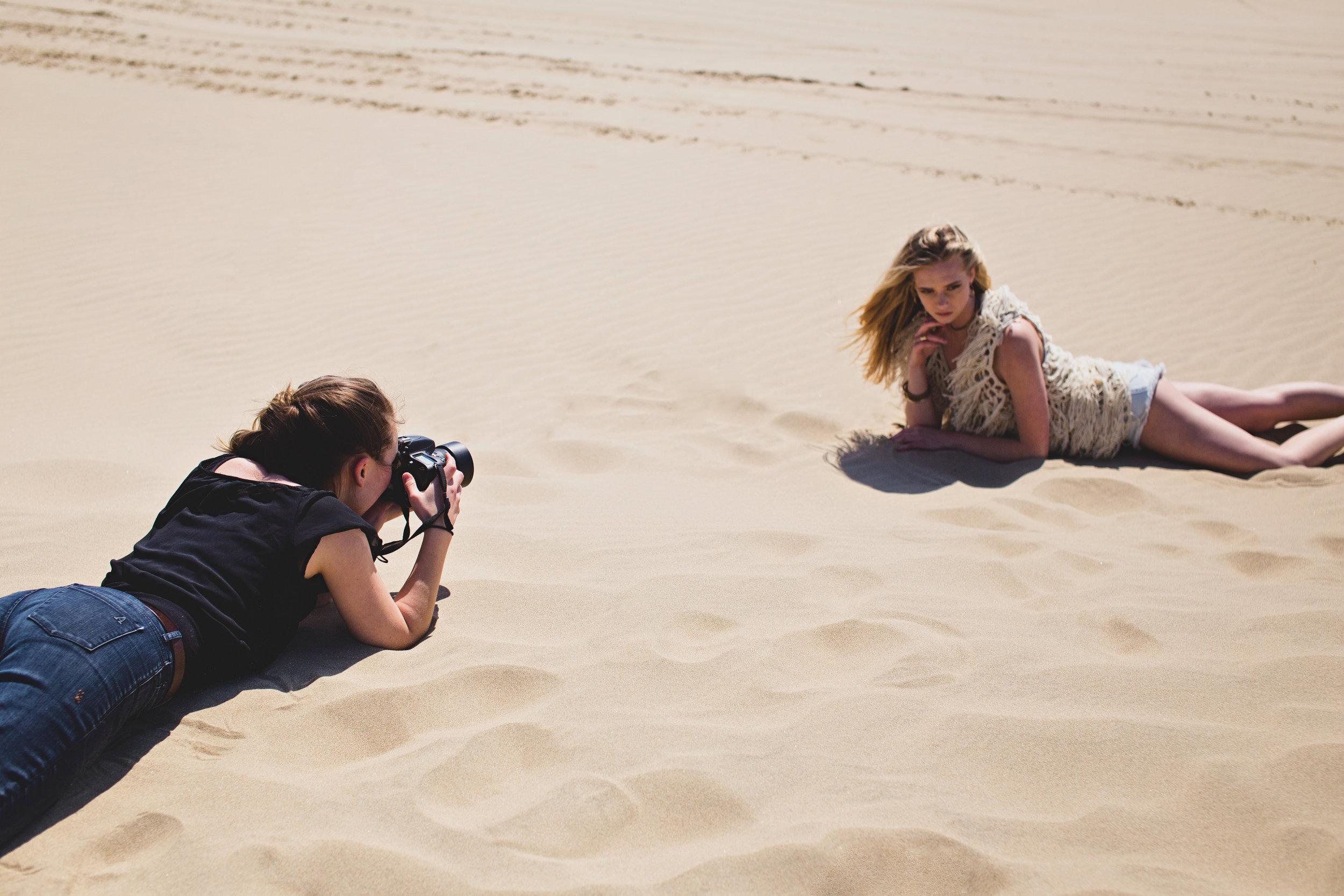 LA Fashion magazine photographer