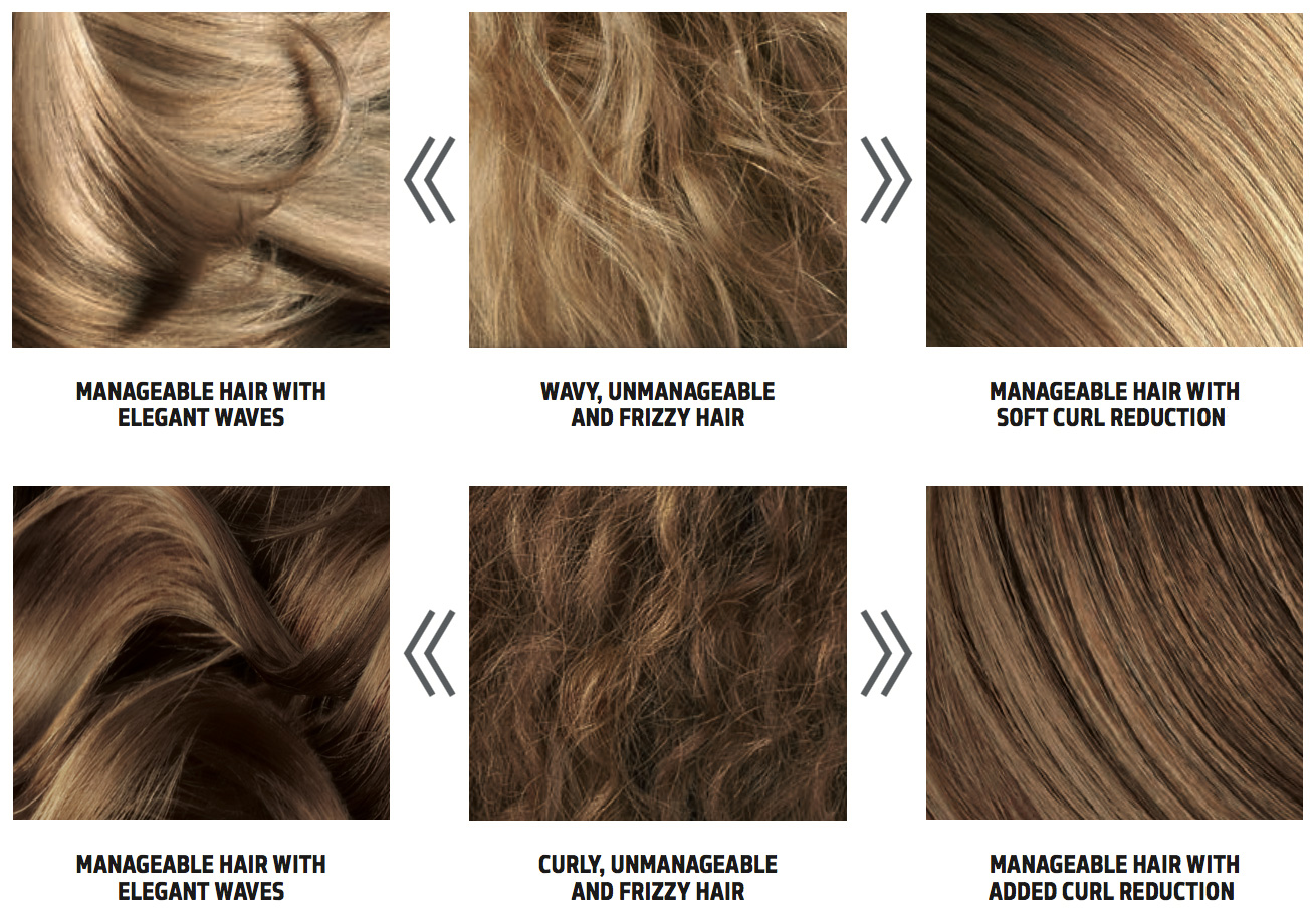 Kerasilk keratin smoothing treatment is completely customizable! You choose your wave reduction and frizz control.