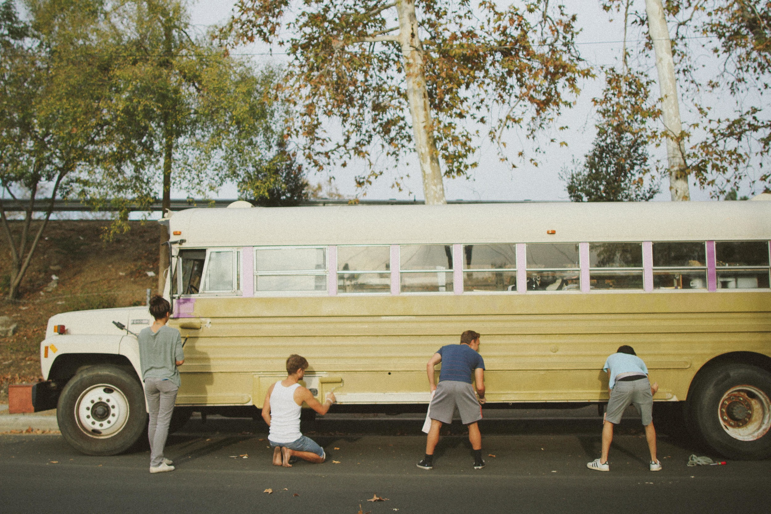 AVOCADO ARMY // WE PAINTED A BUS // THE ETERNAL CHILD