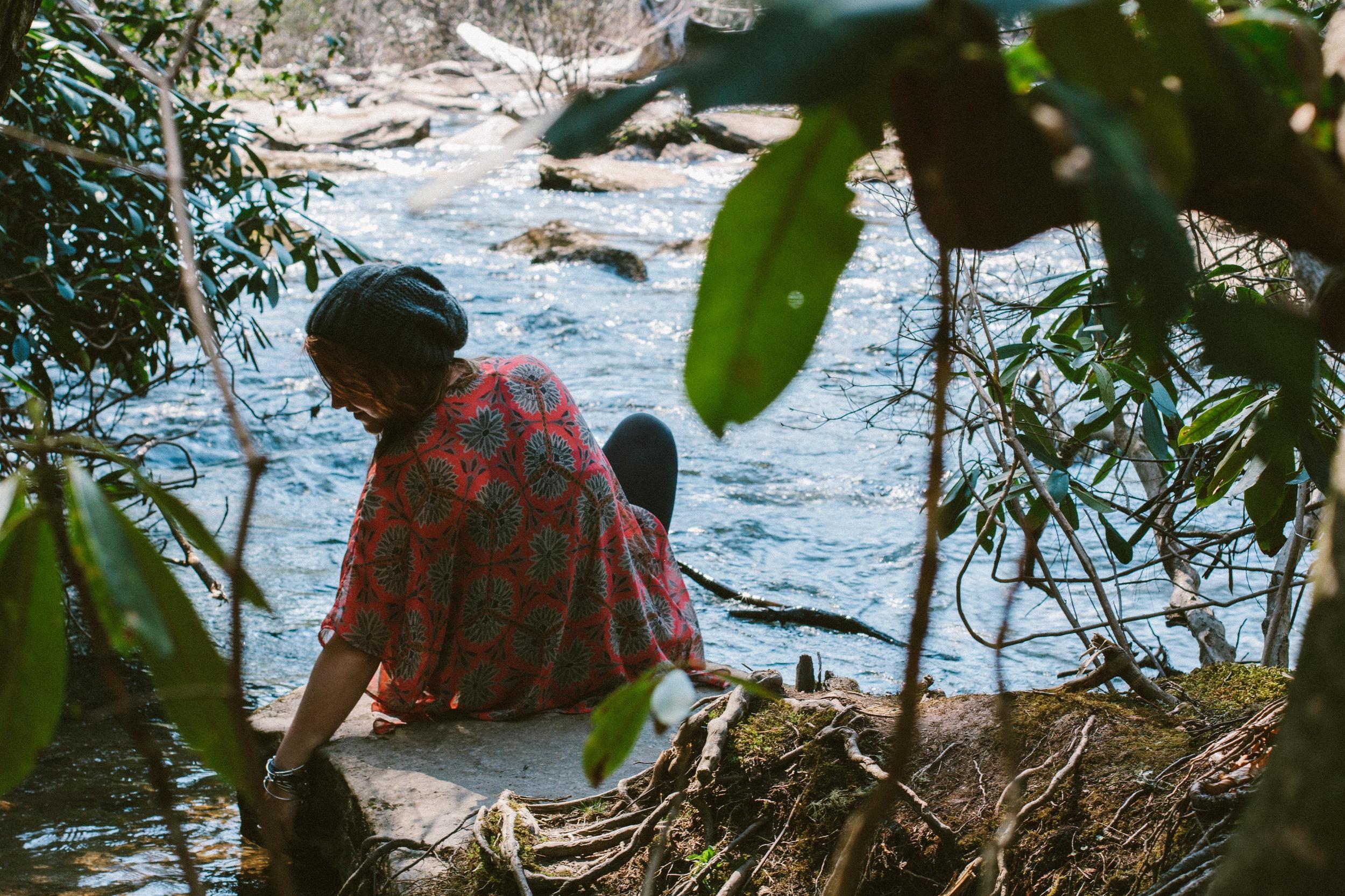 THE ETERNAL CHILD // NORTH CAROLINA PART I // A TRIP TO TRIPLE FALLS