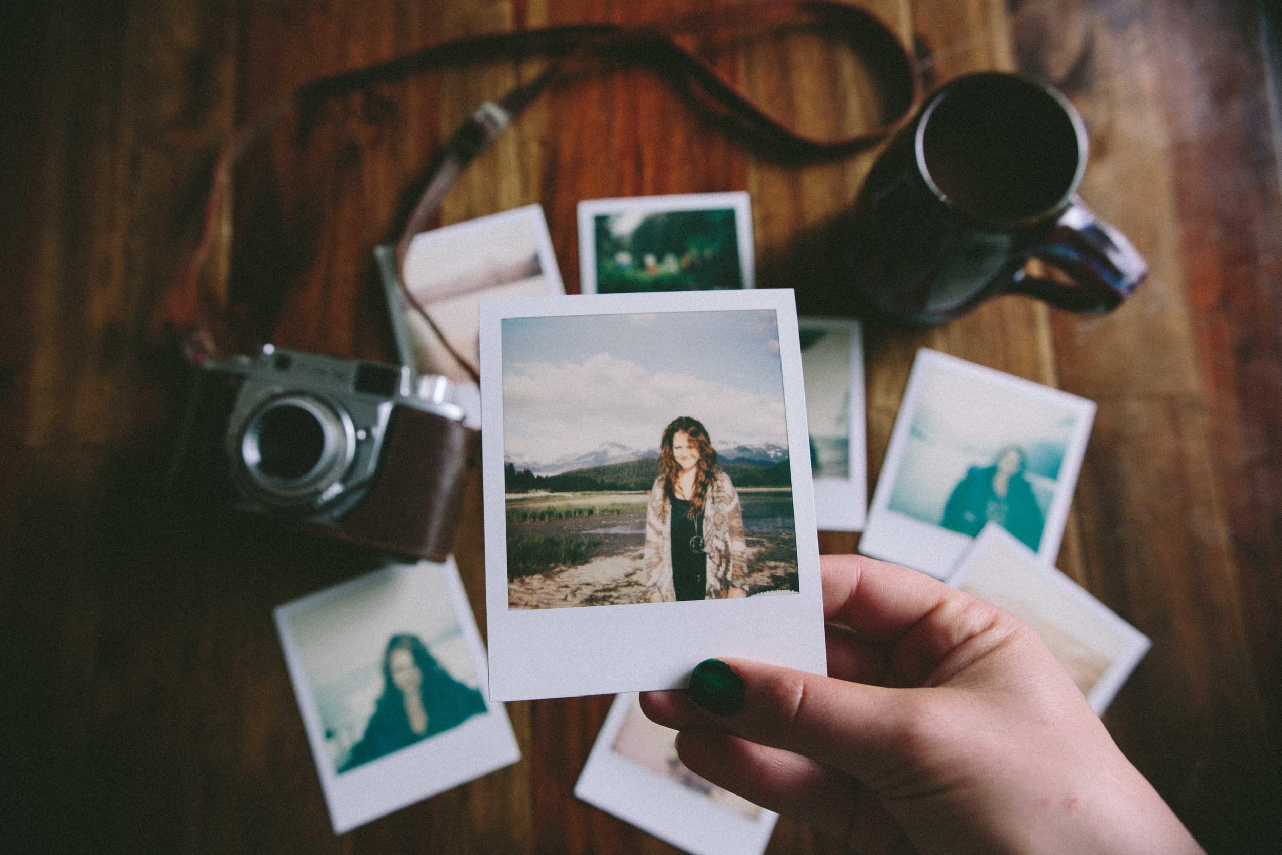 Polaroids of Alaska // The Eternal Child