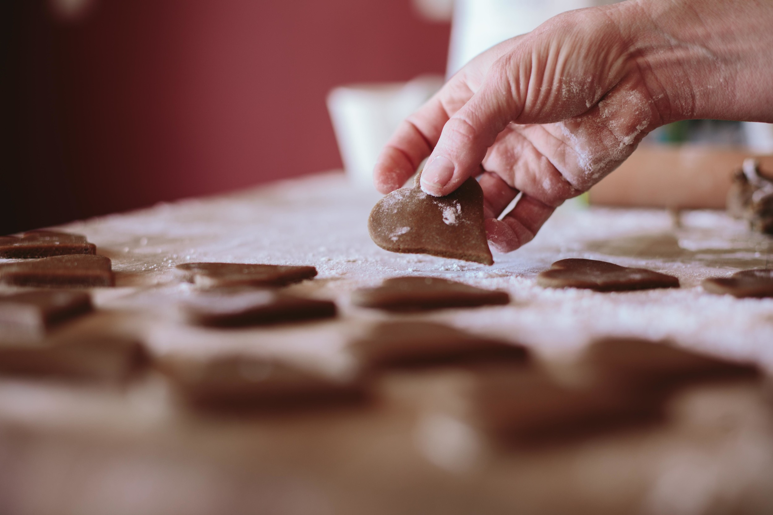 A Table Top Christmas// Lebkuchen - German Gingerbread Cookies // The Eternal Child
