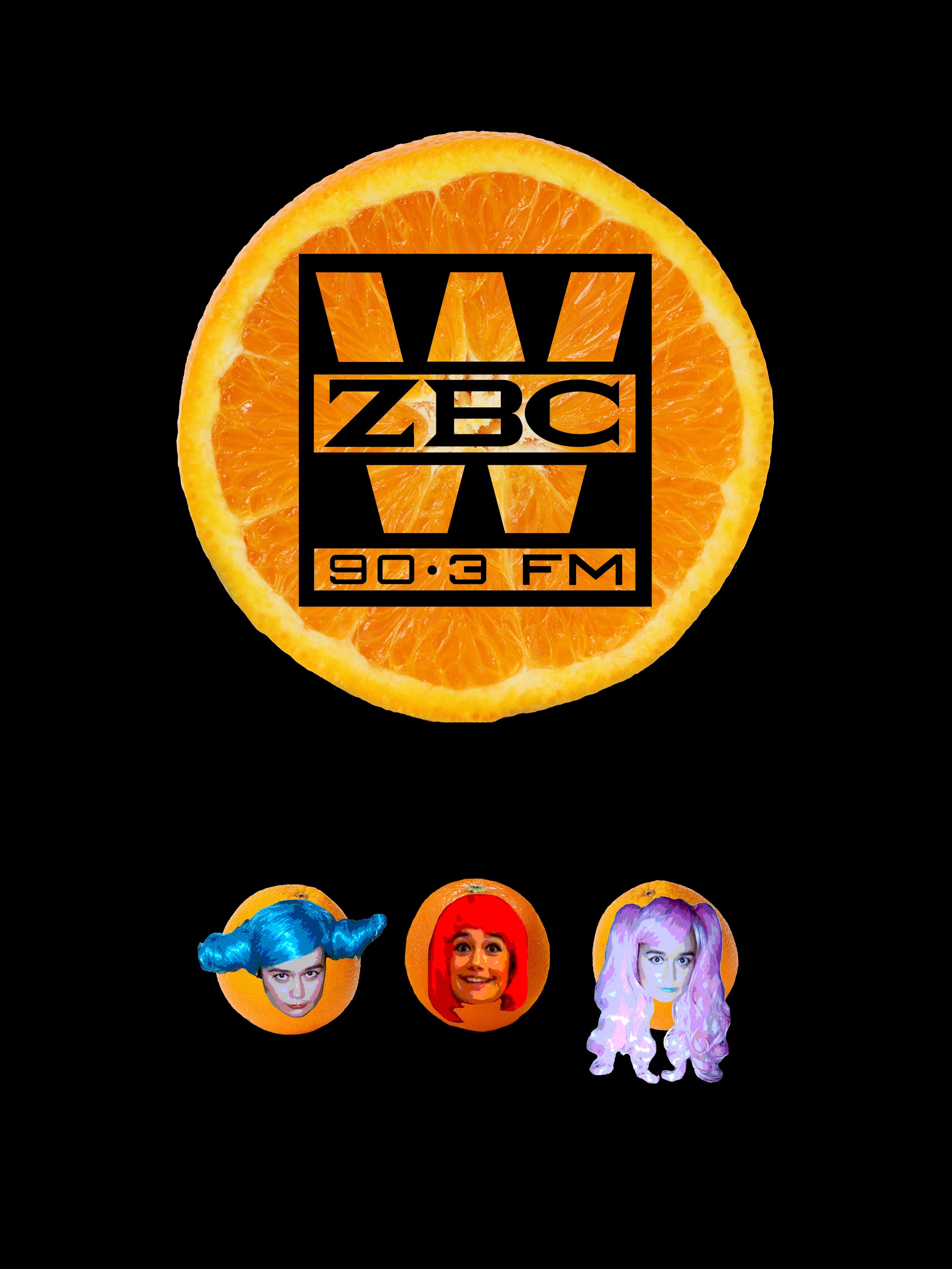 WZBC DJ Erika Poster