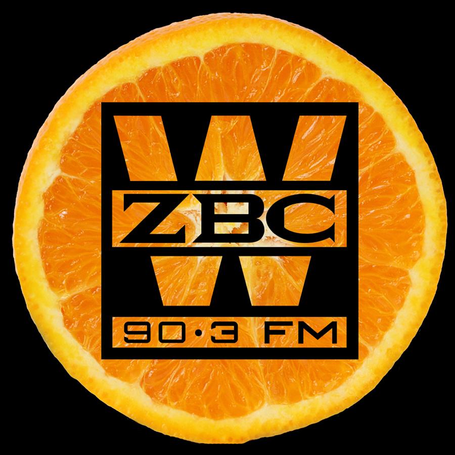 WZBC DJ Erika Sticker 1