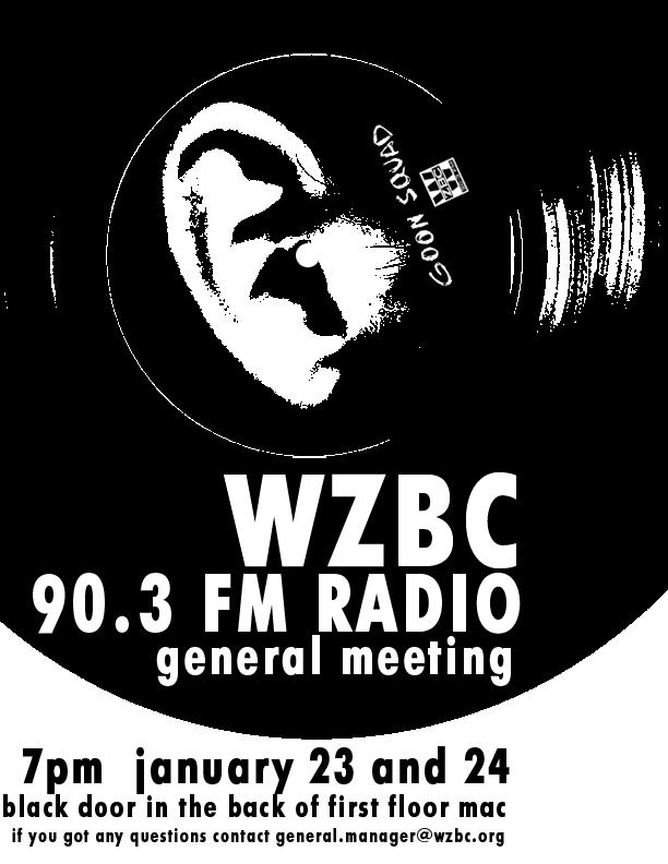 WZBC Interest Meeting Flyer