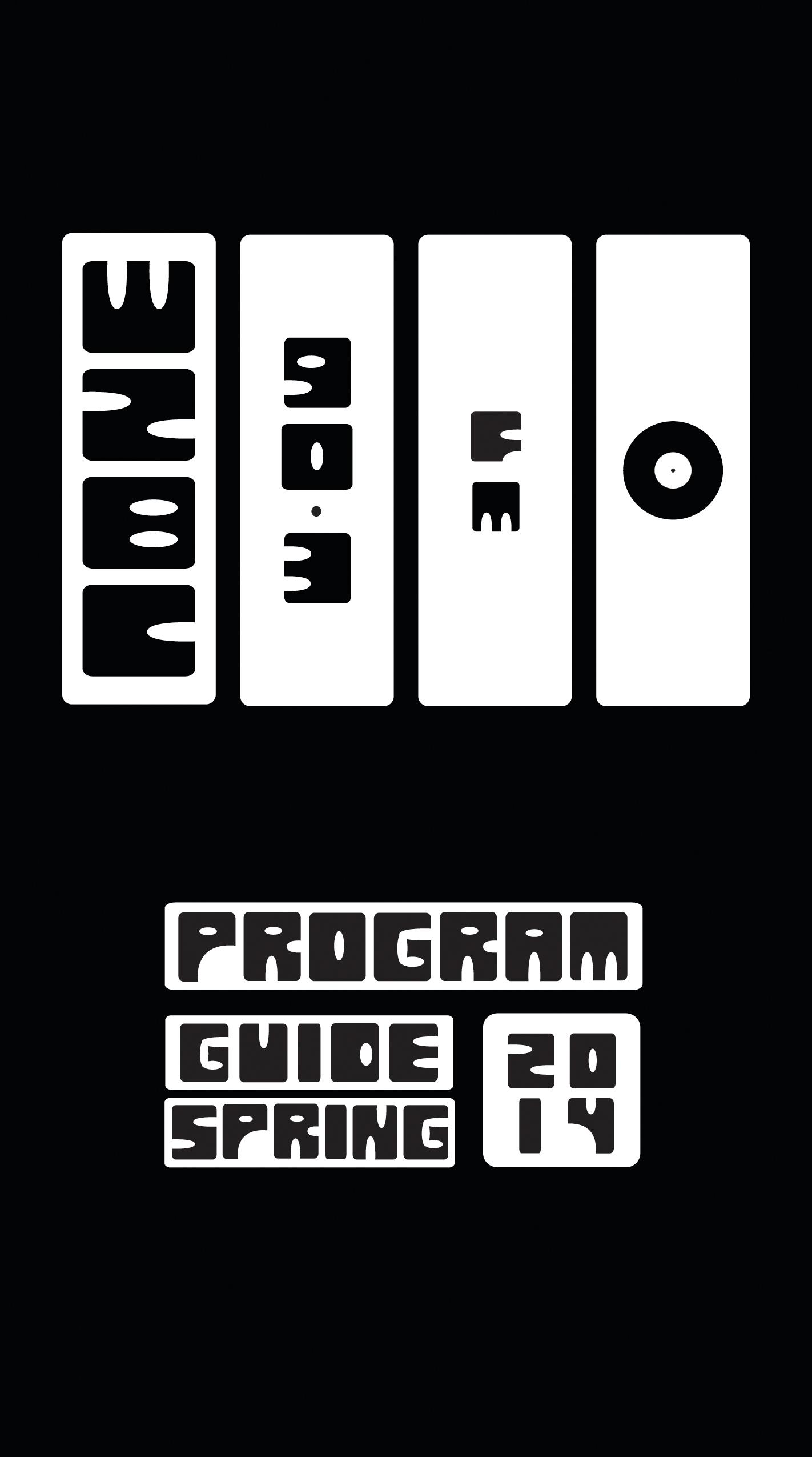 WZBC Program Guide Spring 2014