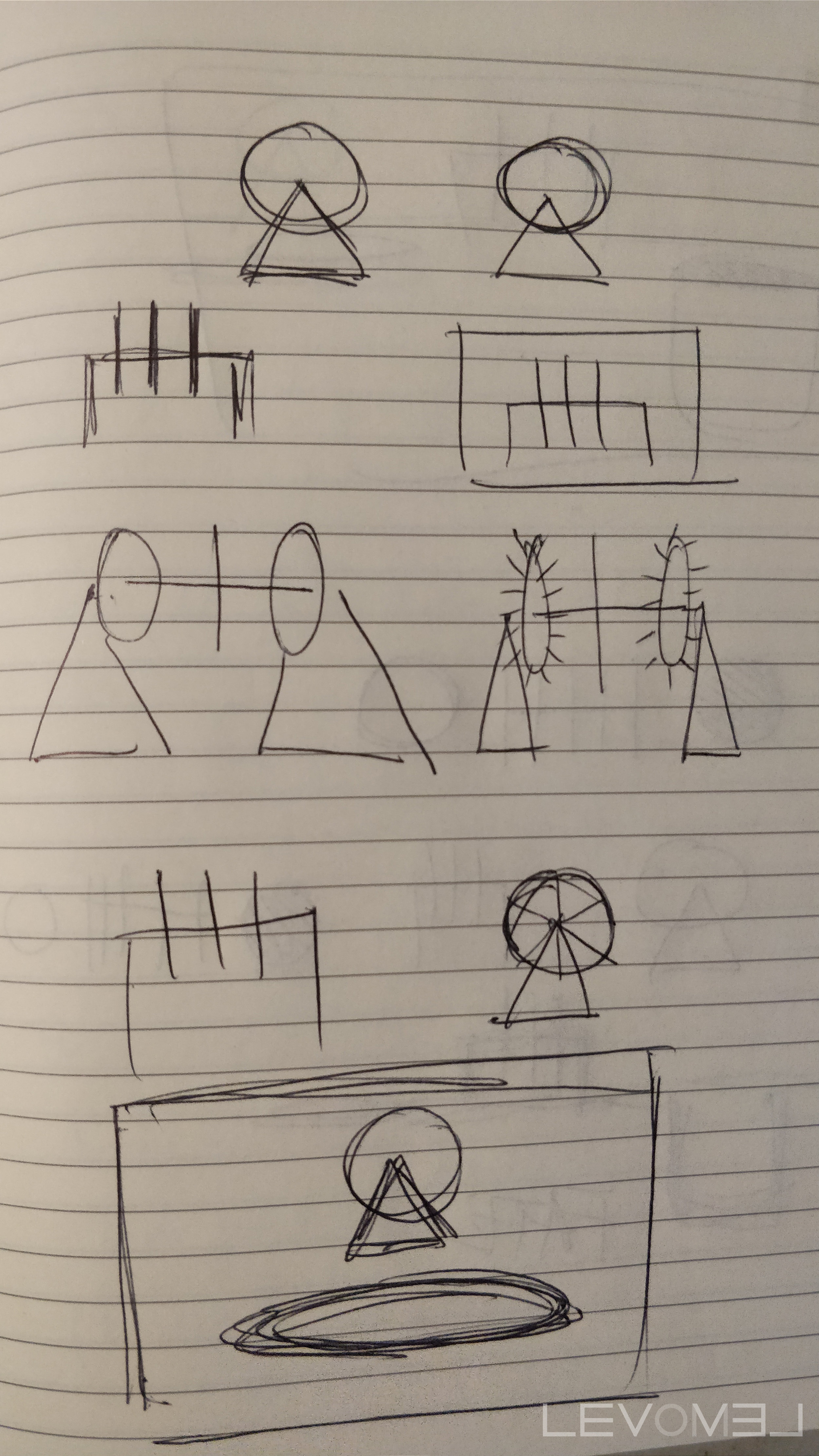 Sketches for a Sculpture