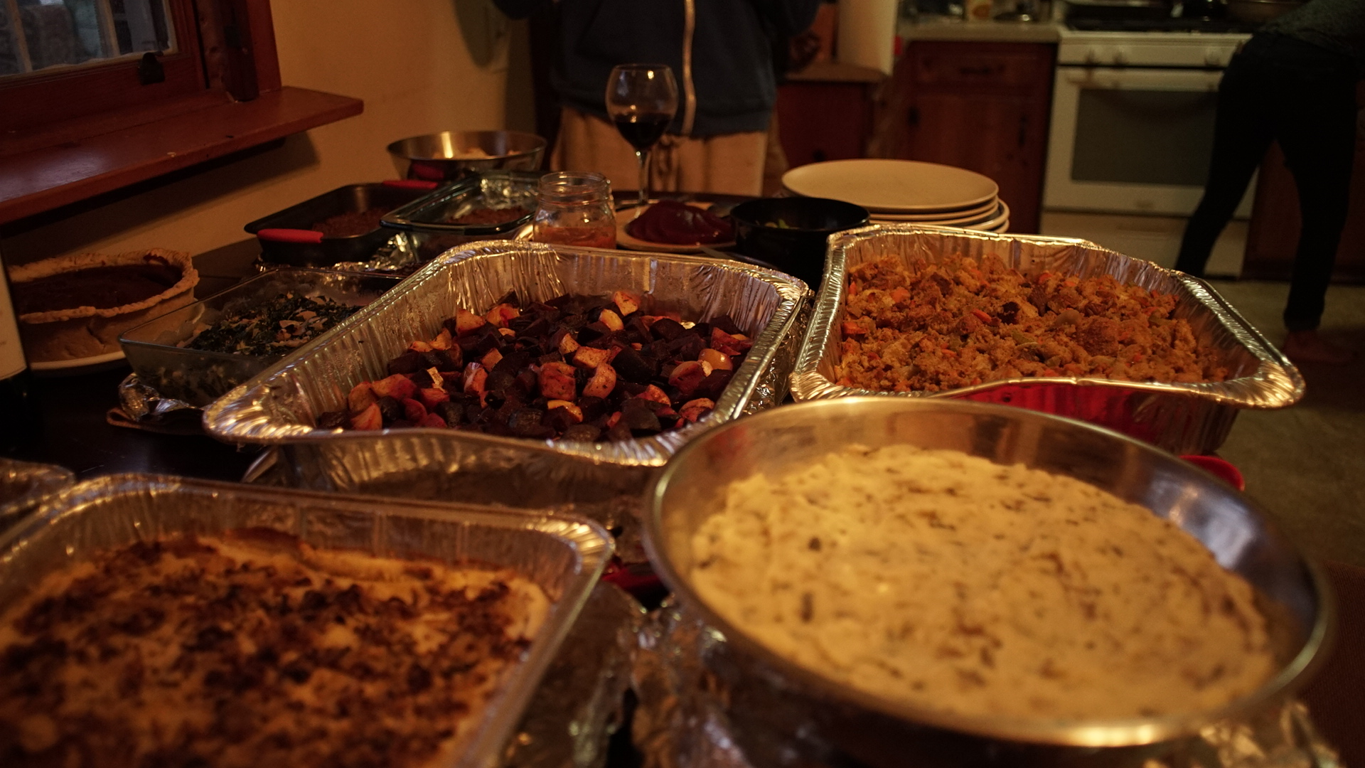 Vegan Thnxgiving Dinner at 1254