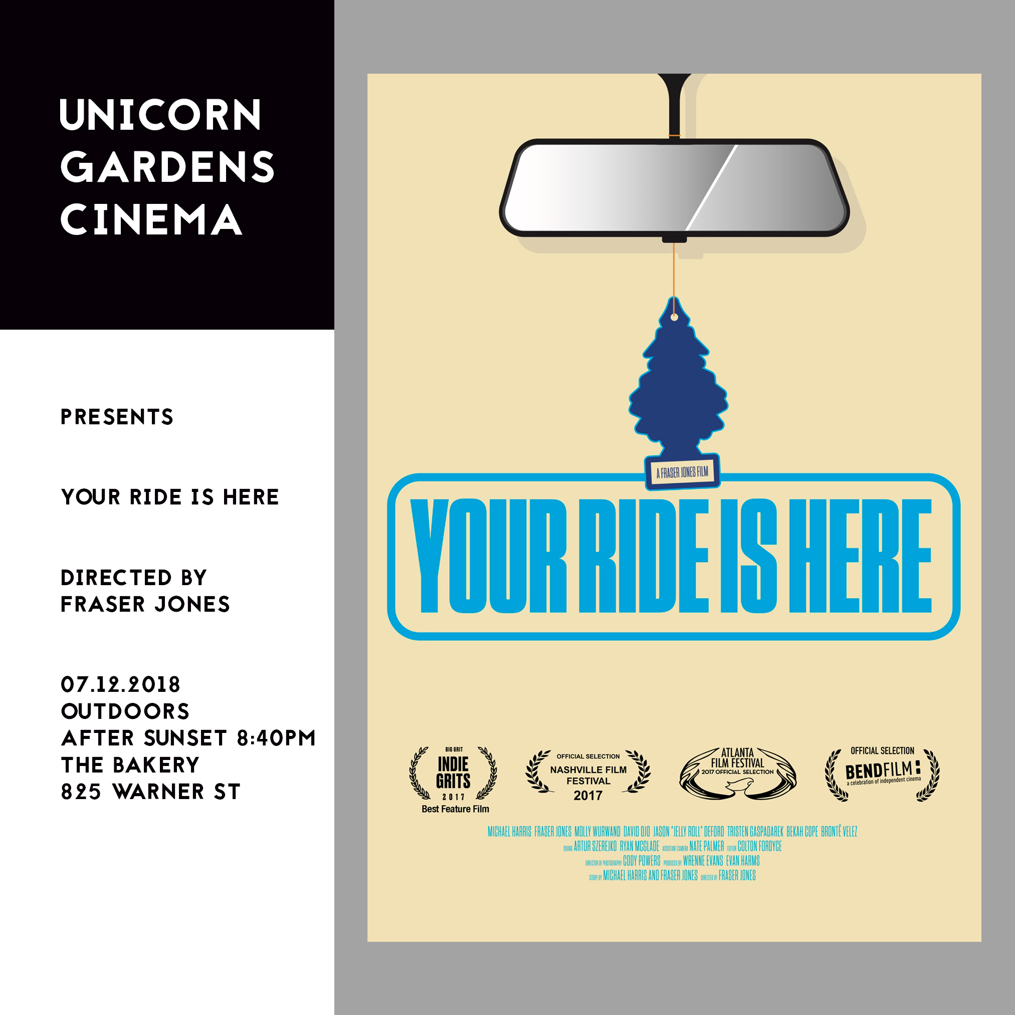 Your Ride is Here - July 12, 2018