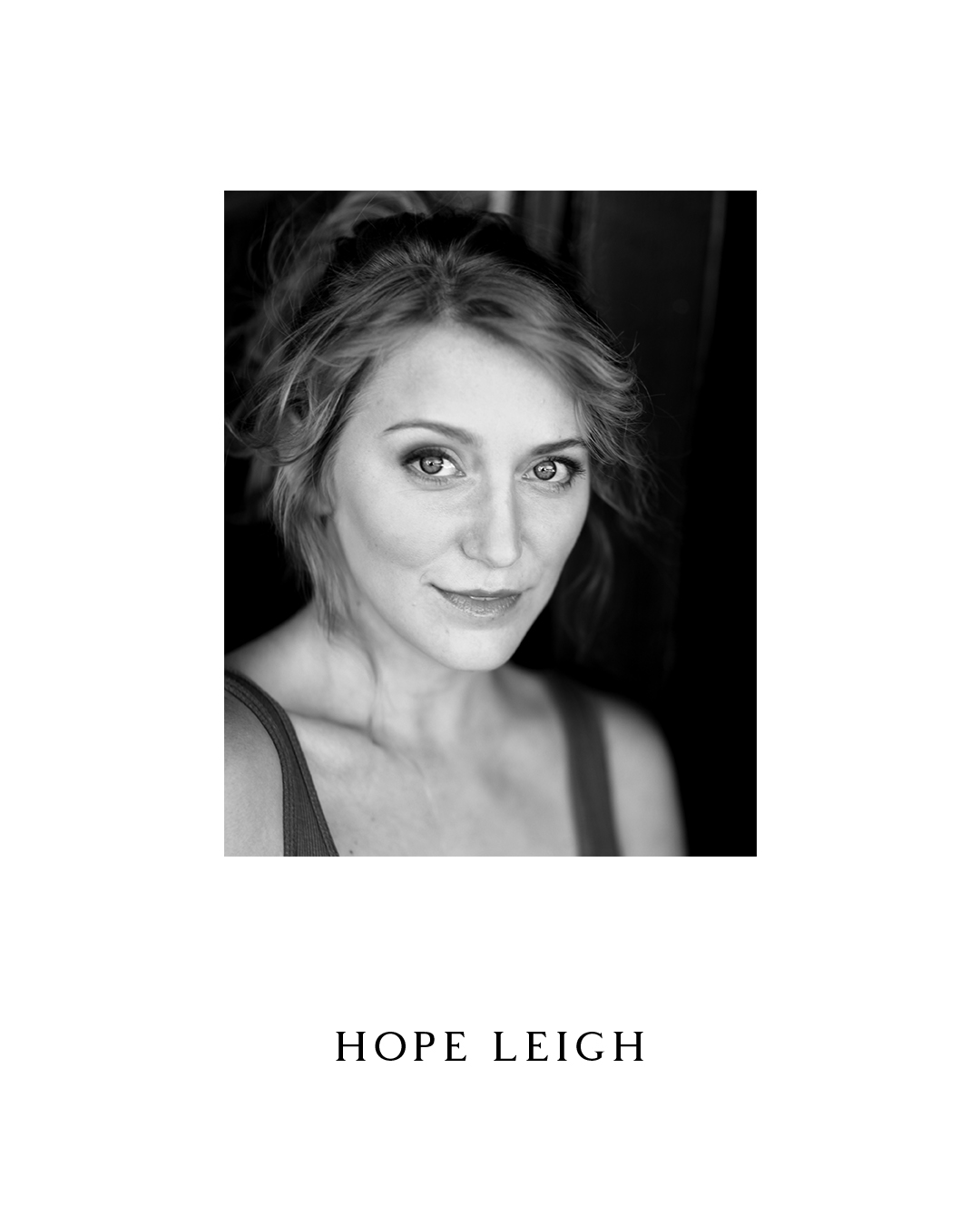 Hope Leigh - Assistant Director