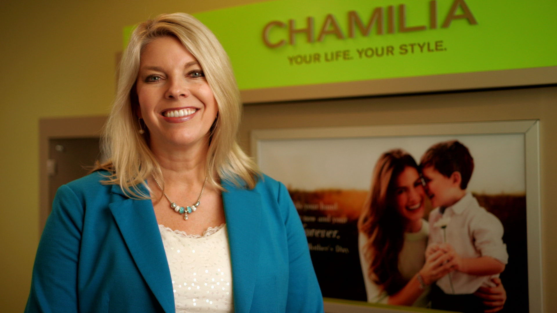 Still image from Chamilia® quarterly training