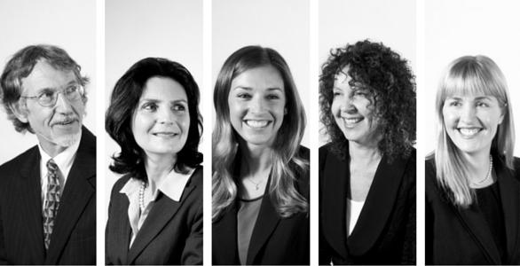 L-R:Jim,Patricia,Stephanie,Barb and Kim of our Wills & Estates Team